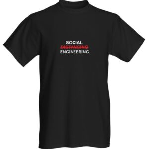 SOCIAL DISTANCING - ENGINEERING T-SHIRT
